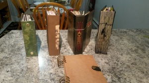 1 Book Spines