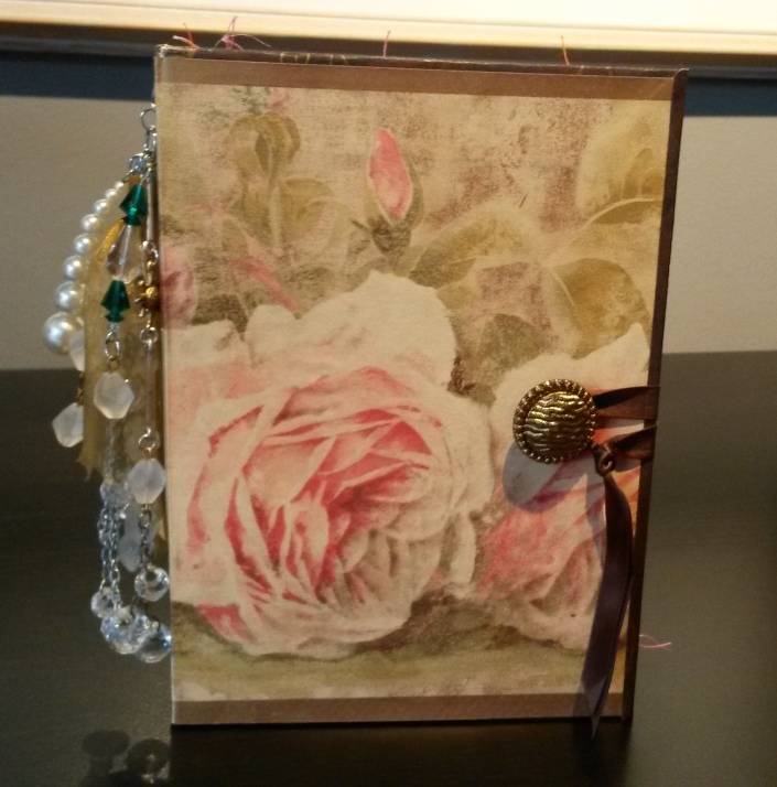 Rose Junk Journal Cover